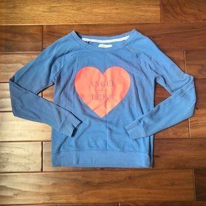 Victoria's Secret Blue Angel Sweatshirt